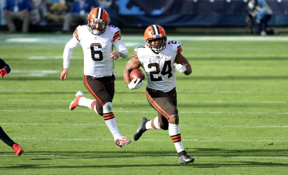 Cleveland Browns. Foto: AFP