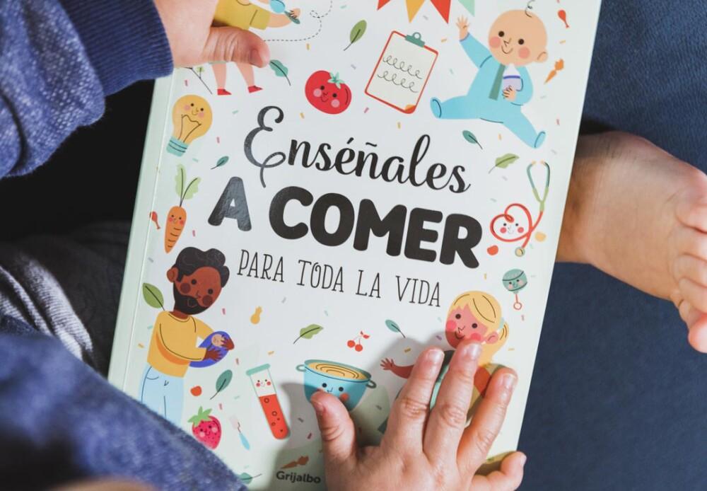 Libro enséñales a comer