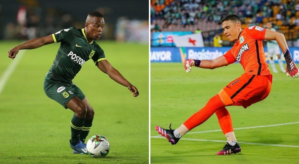 Yerson Candelo y Aldair Quintana