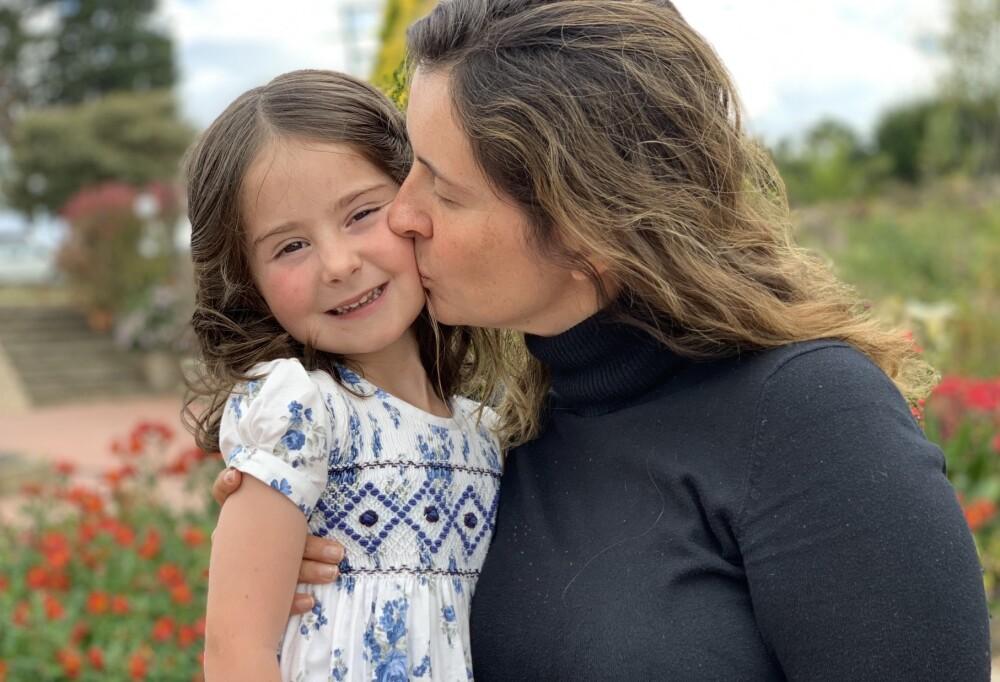 Paloma Valencia y su hija, Amapola