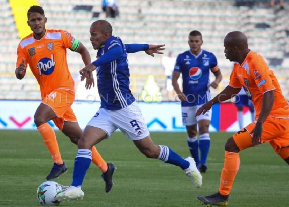 338728_BLU Radio. Envigado triunfó 1-2 de visita a Millonarios // Foto: Millonarios FC