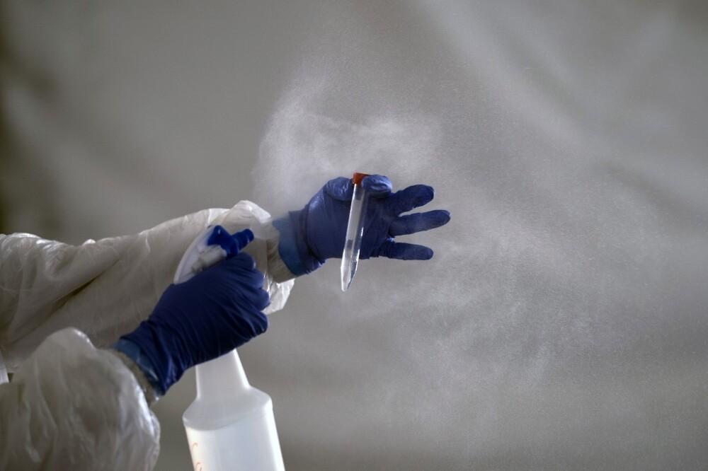 371906_Test coronavirus. Foto: AFP