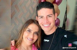James Rodriguez y Maria del Pilar Rubio