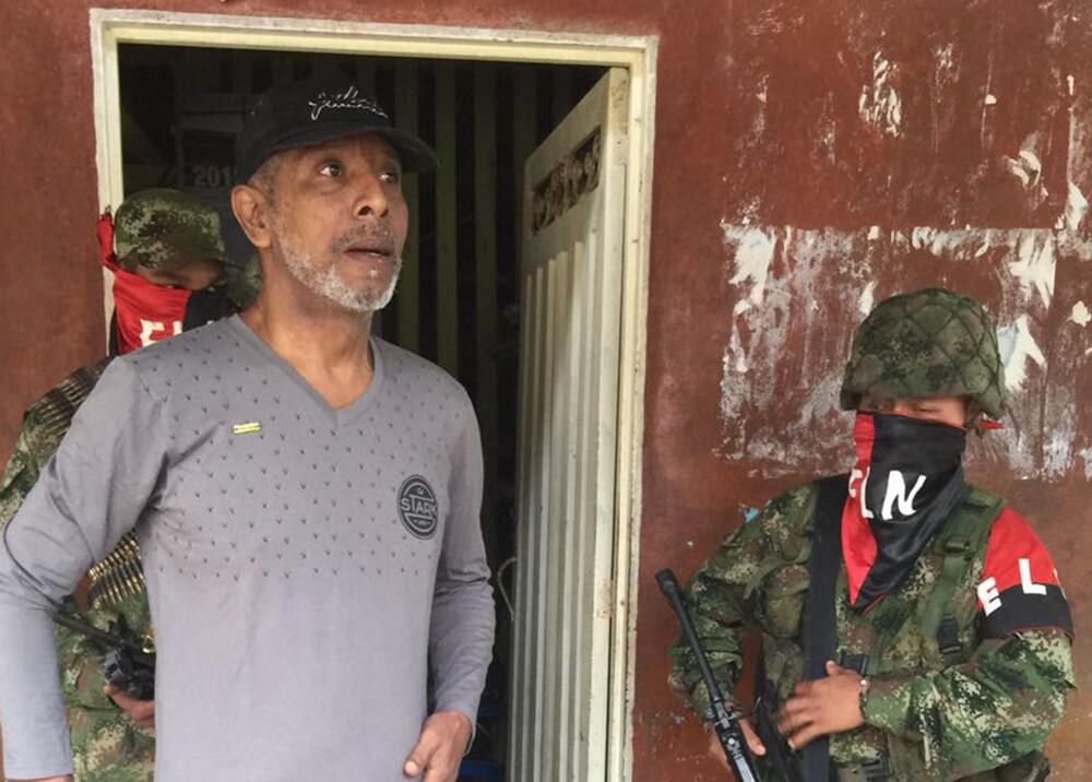 277693_Odín Sánchez antes de recuperar su libertad - Foto: BLU Radio