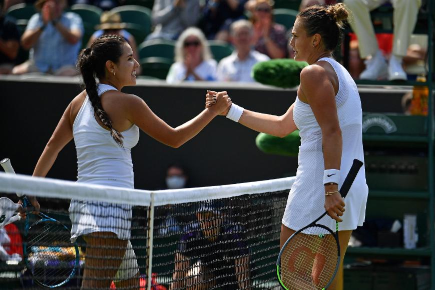 María Camila Osorio fue eliminada en tercera ronda de Wimbledon.