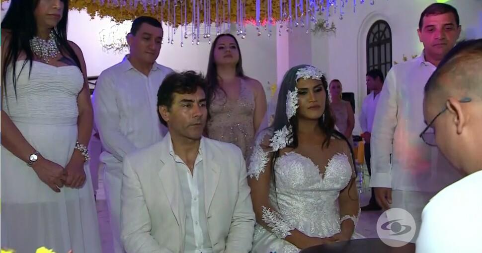 Fotografía de la pareja Mauricio Urquijo y Maria Gabriela Isler