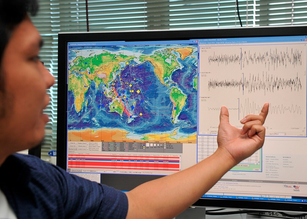 376146_Sismógrafo, reporte de temblor // Foto: AFP, imagen de referencia