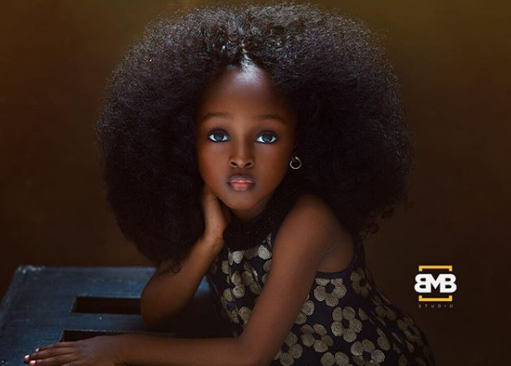 312161_BLU Radio. Jare, niña nigeriana / Foto: Instagram Mofe Bamuyiwa