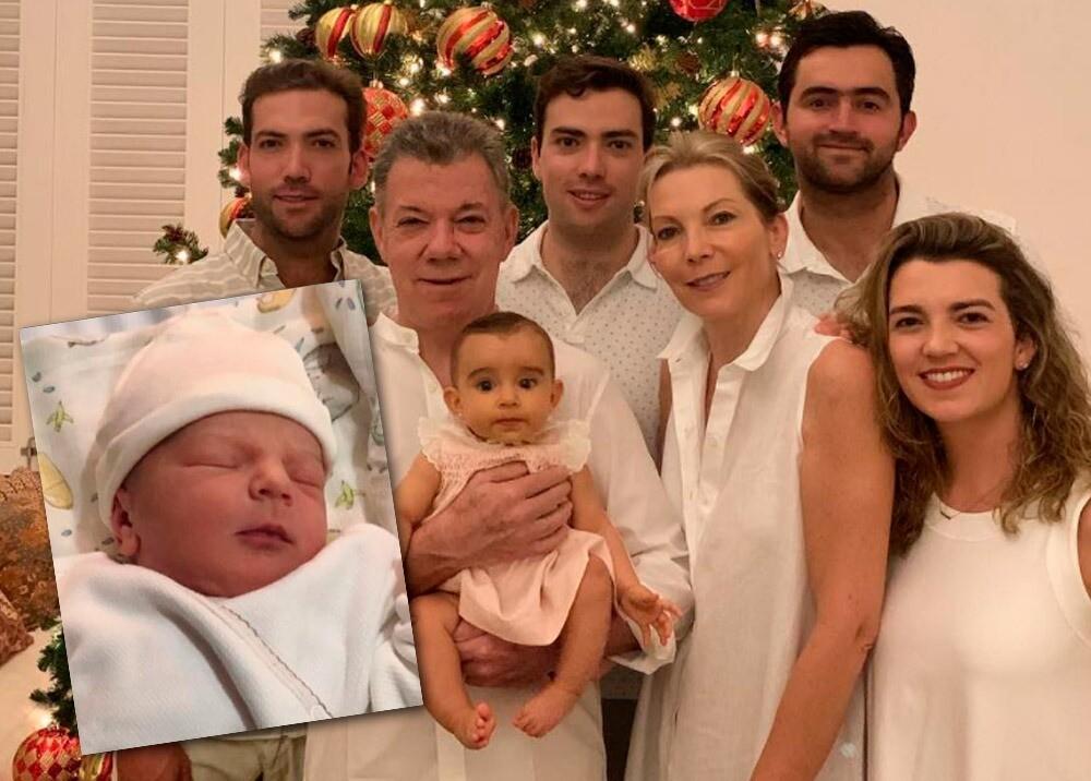 Familia Santos : Foto: Instagram @JuanManSantos y @tutina_desantos.jpeg