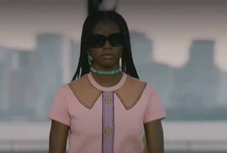 Elaine Palacios llegó a pasarelas de la Semana de la Moda de Nueva York