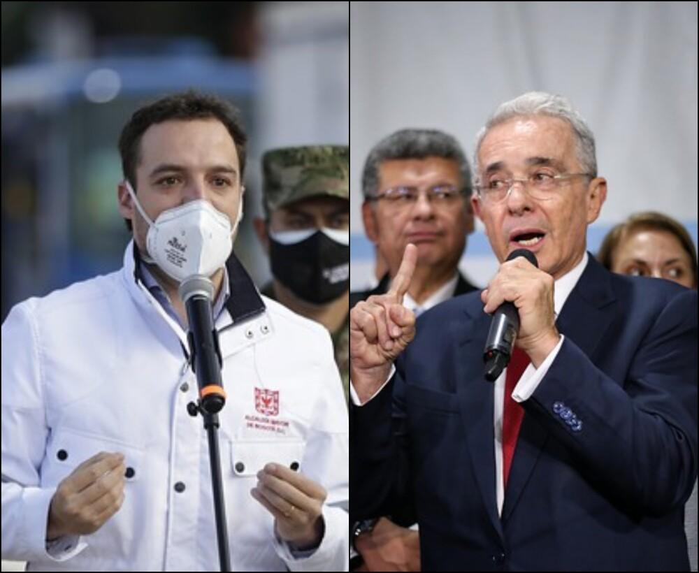 Luis Ernesto Gómez y Álvaro Uribe V