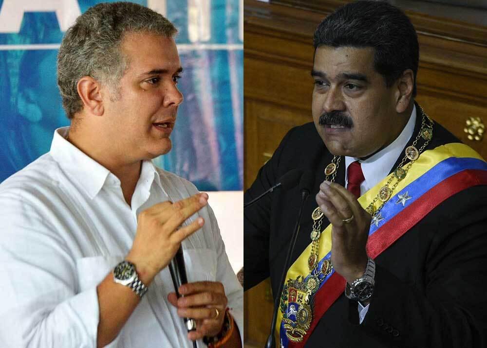 Iván Duque - Nicolás Maduro