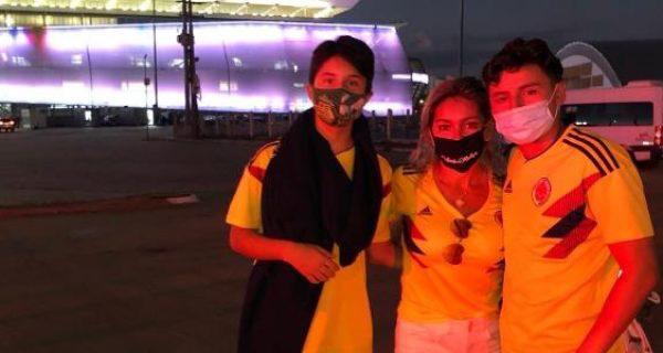 Colombianos viajaron a Copa