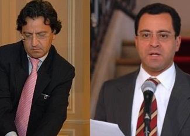 286442_Edmundo del Castillo y César Mauricio Velásquez / Fotos: Sala de Prensa de Presidencia