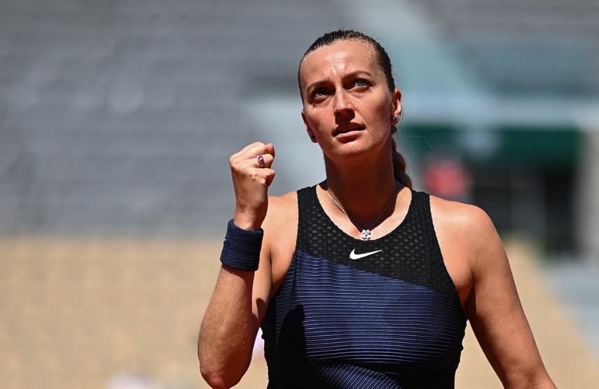 Petra Kvitova se retiró de Roland Garros por lesión.