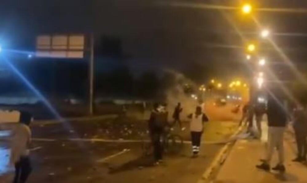 Disturbios en el Portal de las Américas 28 de septiembre