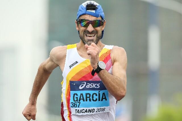 Jesús Ángel García, atleta español