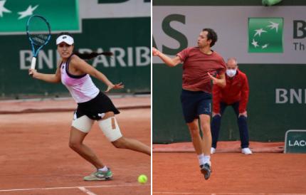 María Camila Osorio y Daniel Galán disputarán el cuadro principal de Roland Garros.