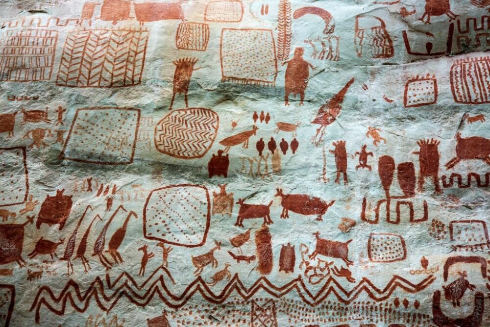 Arte rupestre La Lindosa, Colombia