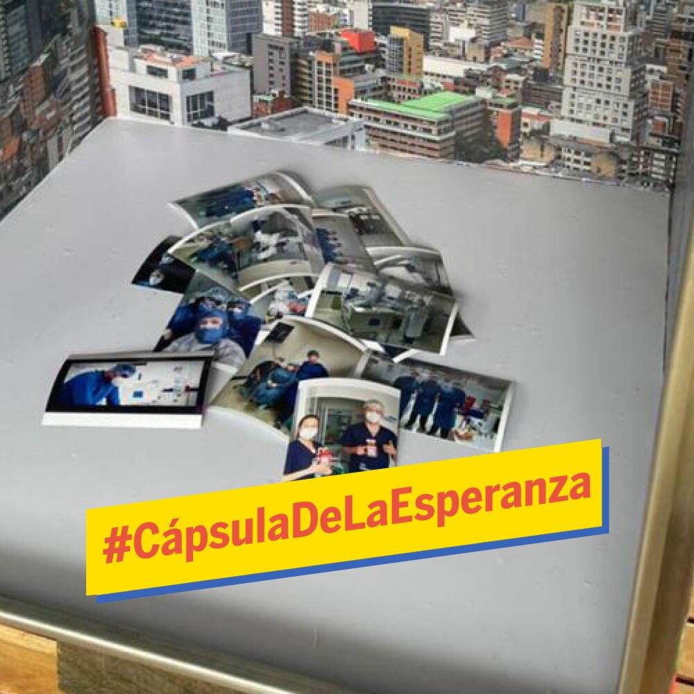 Bogotá conmemoró 483 años con una cápsula de la esperanza