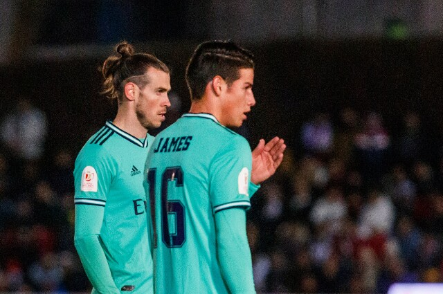James Rodríguez y Gareth Bale - Foto: Getty Images