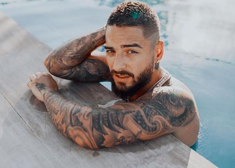 14700_La Kalle. Nuevo tatuaje de Maluma / Foto: Instagram