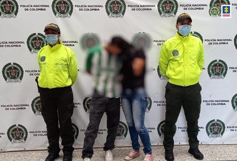 capturados por homicidio de una mujer en Medellín