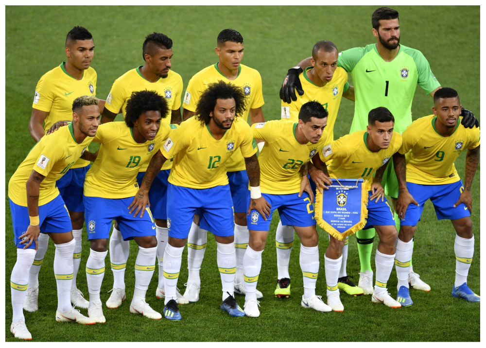 309866_Foto: Selección de Brasil en Rusia 2018/AFP