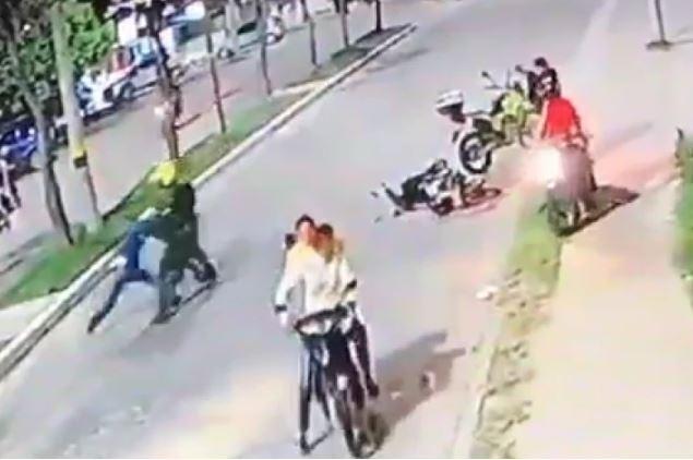 Joven denuncia presunto caso de violencia policial en Pitalito
