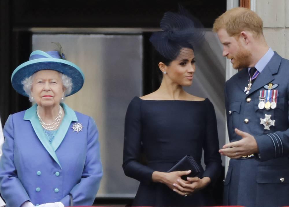 Príncipe Harry y Meghan // Foto: AFP