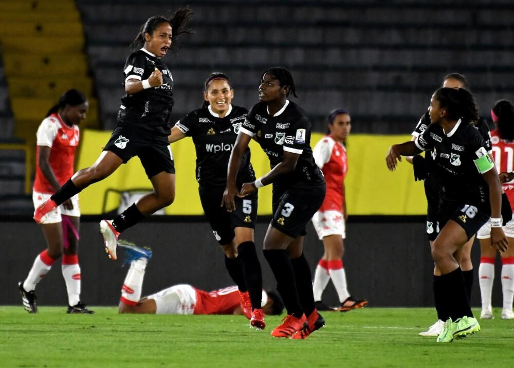 Deportivo Cali (f) goleó a Santa Fe (f) Foto Dimayor.jpg