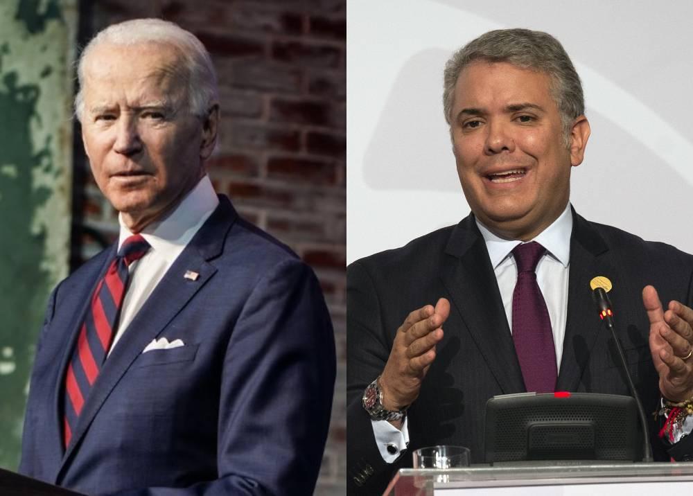 Joe Biden - Iván Duque