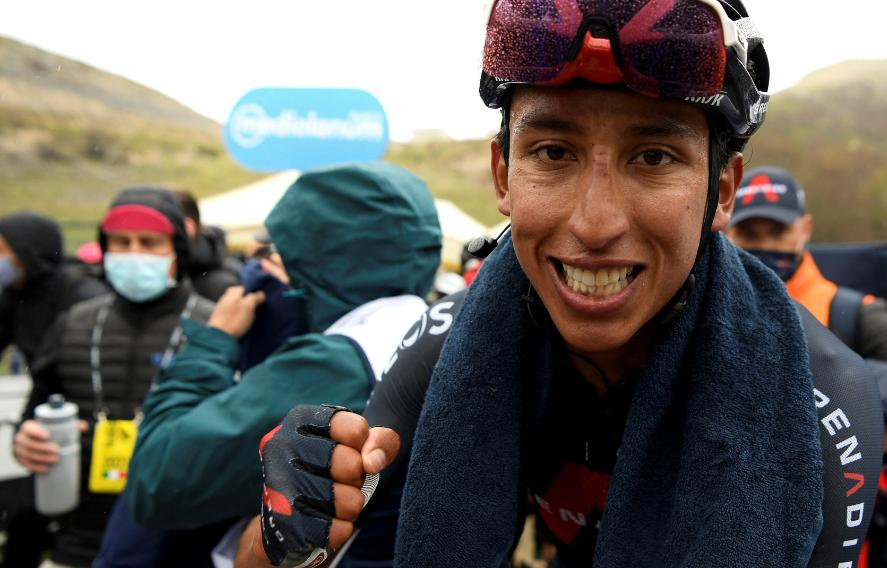 Egan Bernal fue el ganador de la etapa 9 del Giro de Italia 2021.