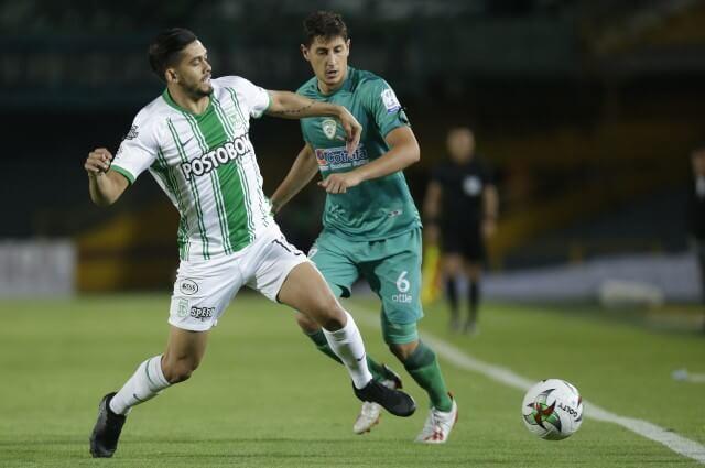 333532_Andrés Andrade, jugador de Atlético Nacional