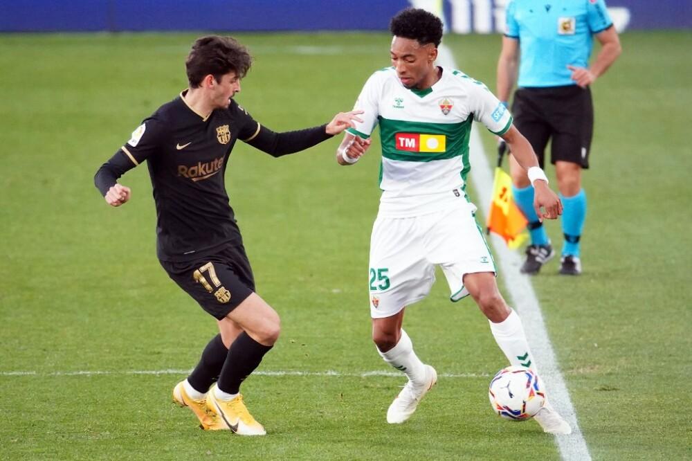 Johan Mojica, Elche vs Barcelona