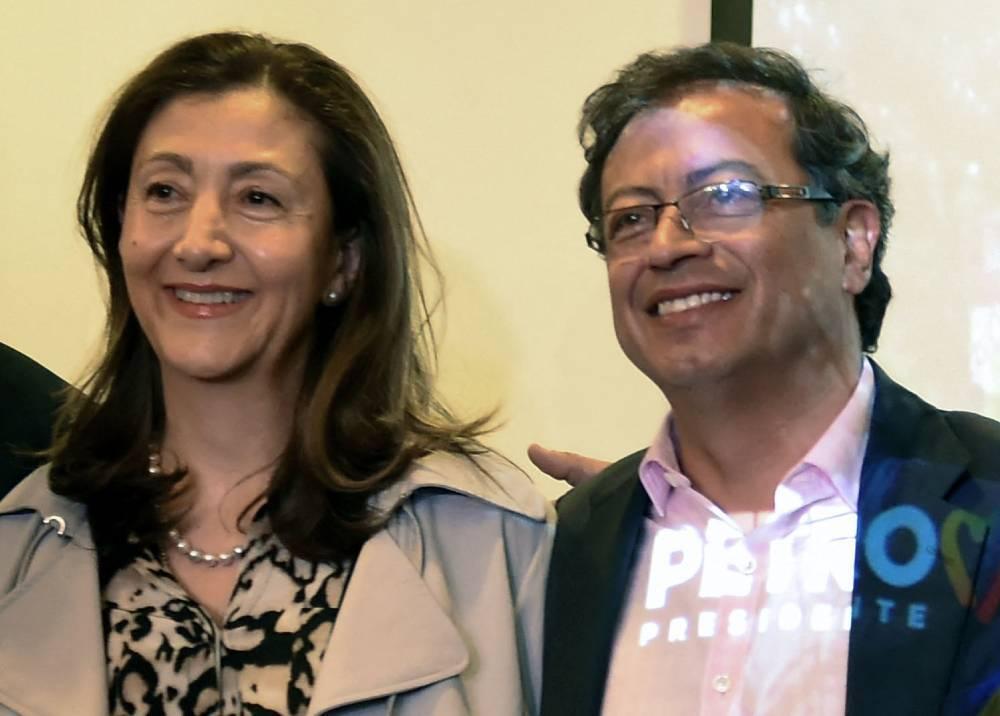 Ingrid Betancourt y Gustavo Petro