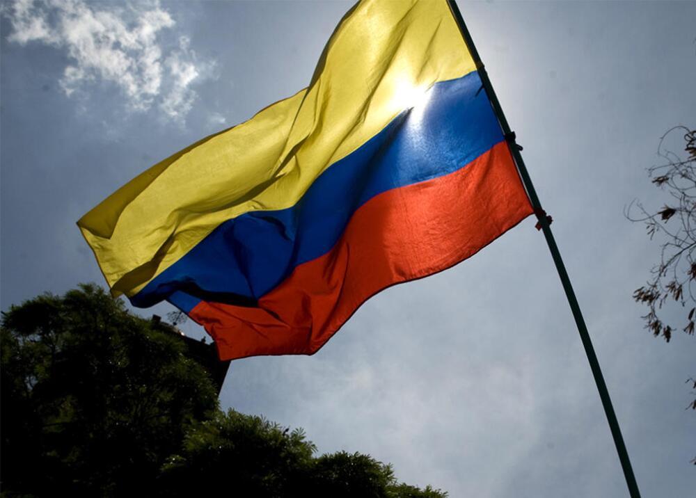 358789_Bandera de Colombia. Foto: AFP