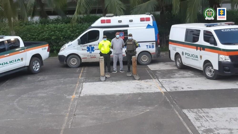 Incautación de cocaína en una ambulancia en Antioquia.jpeg