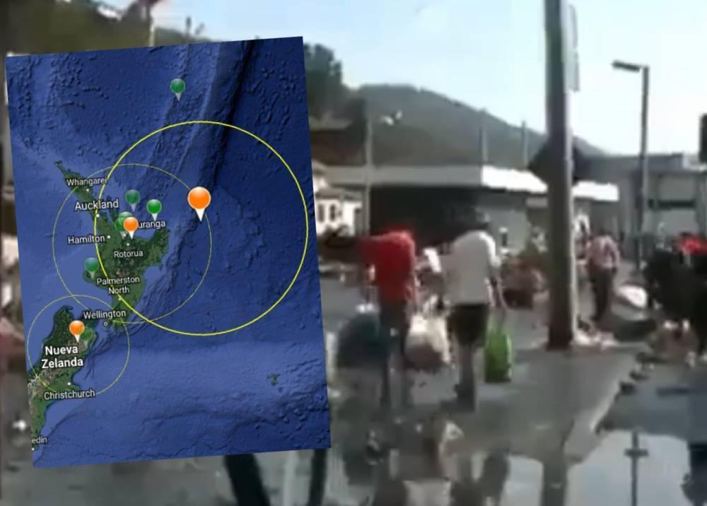 Terremotos en Nueva Zelanda