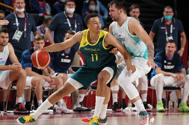 Australia contra Eslovenia, en los Juegos Olímpicos de Tokio 2020