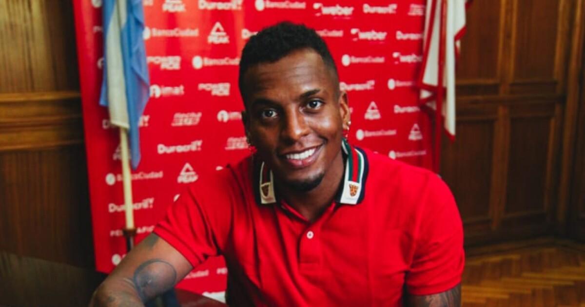Sebastián Rincón quiere 'volar' en el 'globo': es nuevo jugador de Huracán, de Argentina