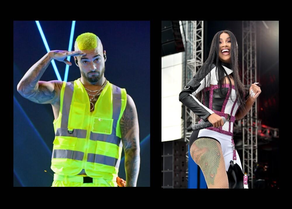 25111_Maluma y Cardi B son líderes en dos nuevas carteleras globales de Billboard - Fotos AFP