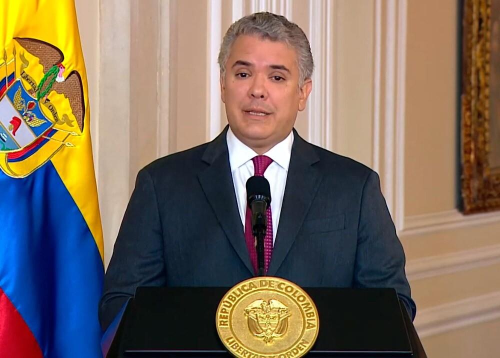376546_Iván Duque interviene en Andicom // Foto: captura video Presidencia
