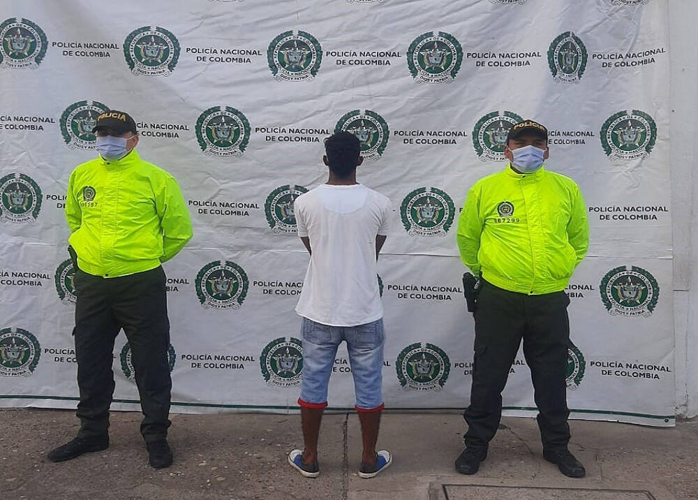 Ladrón capturado en Barrancabermeja
