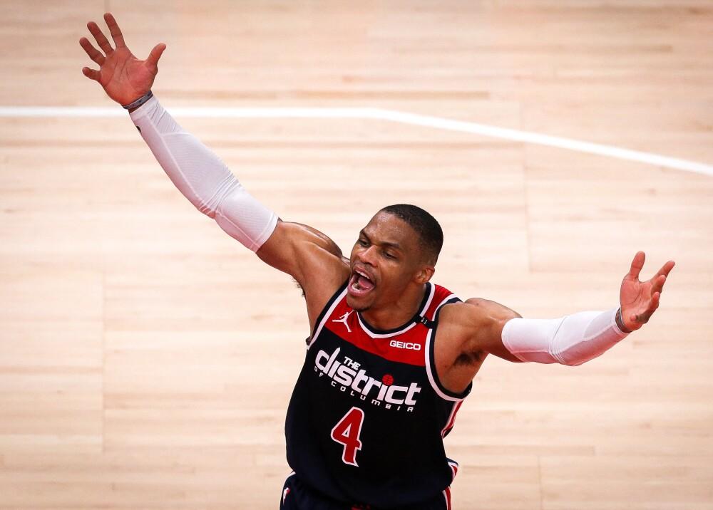 Russell Westbrook NBA AFP.