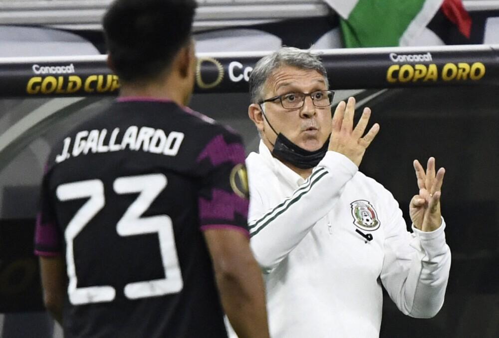 Gerardo Martino, técnico de México