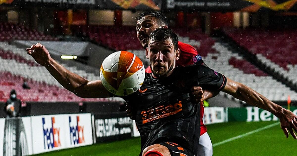 Europa League: Rangers se confió, Benfica se creció y al final fue empate 3-3