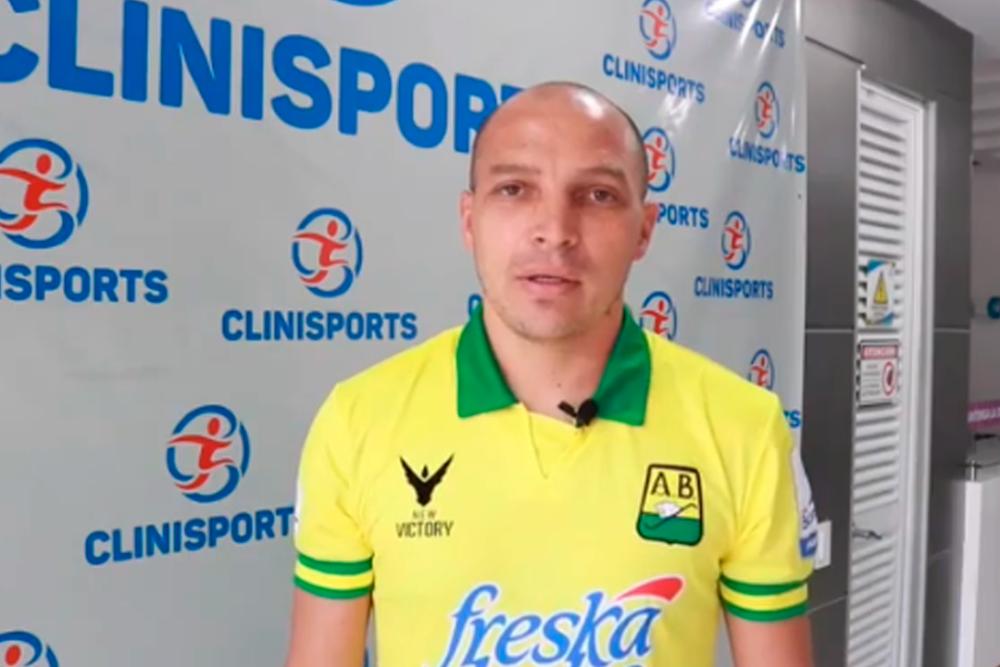 Andrés Correa, jugador de Bucaramanga. Bucaramanga Oficial.png