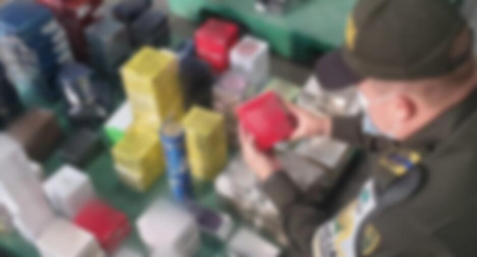 Policía fiscal y aduanera incautó perfumería de contrabando en Yumbo, Valle.jpeg