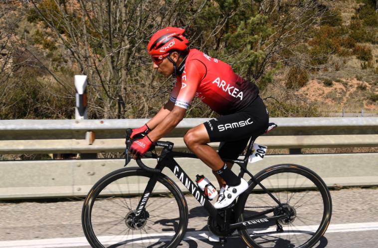 Nairo Quintana fue cuarto en la etapa 4 del Tour de los Alpes.